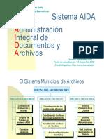 Sistema AIDA Esp