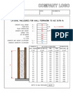 Calculation Pad Sample - Background Template