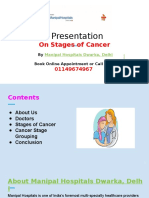 Manipal Hospitals Dwarka, Delhi- Stages of Cancer