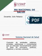 Sistema Nacional de Salud y Reforma