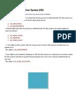 IIS Database