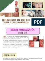 Enfermedad de Torsh y Sifilis Congenita