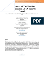 Veto Power And The Need For  Democratization Of UN Security   Council