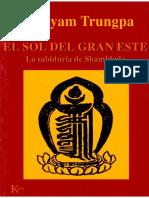 Trungpa Chogyam - El Sol Del Gran Este.pdf