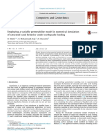 Employing a Variable Permeability Model in Numerical Simulation of Saturated Sand Behavior Under Earthquake Loading