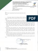 Hasil Seleksi Admin Tubel Nusantara Sehat 2018