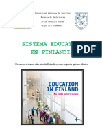 Sistema Educativo en Finlandia