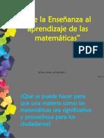 DE LA ENSEÑANZA AL APRENDIZAJE DE LAS MATEMÁTICAS II.pptx