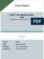 Lapsus Toxoplasmosis Cerebri