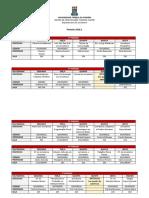 Jornalismo UFPB - Disciplinas 2018.1