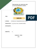 SIFON Informe FINAL