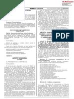 Decreto Legislativo que modifica el Decreto Legislativo 1075 que aprueba disposiciones complementarias a la Decisión 486 de la Comisión de la Comunidad Andina