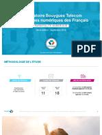 ObservatoireBouyguesTelecom-PratiquesNumeriquesFrançais-SEPT18