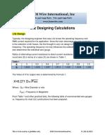 Litz - Litz Designing Calculations