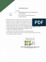 Surat Pernyataan Sesep Ferdiansyah Syaiful Hijrah, S.pd.