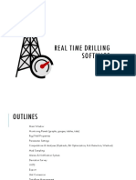 Advanced real-time drilling software (C++/Qt), Written for oil-gas industry