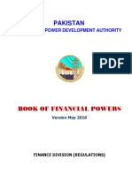 WAPDA Book Of Financial Powers (May 2016)