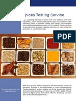 Eurofins Spices Testing