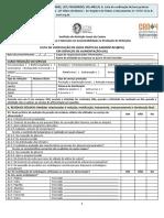 Lista de Verificação de BPA Em SA