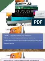 Português II - Fundamentação Teórica Sobre o Texto - Aulas 01, 02
