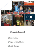 Types of Retail Sector