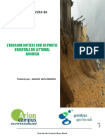 l Erosion Cotiere Ivoirienne