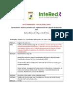 Propuesta Programa Conversatorio 25 Abril