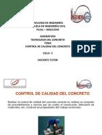 Control de Calidad CICLO V