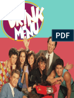 Saved by the Bell Menu