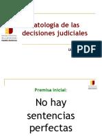 Patologia de las sentencias (conversatorio).ppt