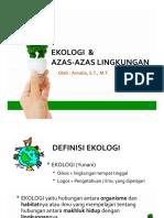 Ekologi Dan Azas-Azas Lingkungan - Amalia