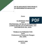 ESTANDAR DE MANEJO DE HERRAMIENTAS.doc