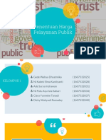 PPT Penentuan Harga Pelayanan Publik