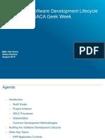 Auditing SDLC