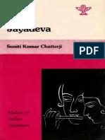 Jayadeva Sunitikumar Chatterji Sahitya Akademi_text