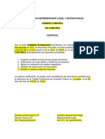 Carta - Solicitud de Tarjeta Profesional Contador Publico