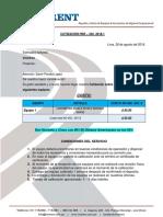 Cotización Hsr - 332- 2018-1 - Calibracion
