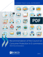OCDE, Recommendation of the Council on Cosumer Protection in E-commerce