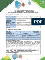 Guía de Actividades y rúbrica de evaluación - Fase 2 – Presentación de Estudios Ambientales.docx