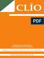 Revista Clío,  Año 82 • Enero-junio de 2013 • No. 185
