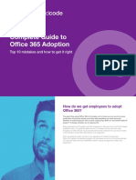 Content and Code Complete Guide to Office 365 Adoption