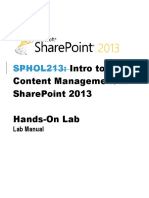 Intro to Web Content Management in SharePoint 2013