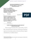 Orden sobre derechos electorales en Florida