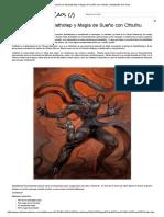 Invocación de Nyarlathotep y Magia de Sueño con Cthulhu _ Habitantes Del Caos.pdf