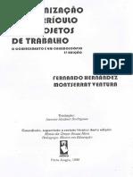 TEXTO 6.2 HERNANDEZ, Fernando. a Organização Do Curriculo Por p (1)