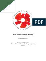 Wind Turbine Reliability Modeling_Einarsson