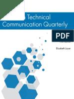Technical Communication Quarterly - White Paper
