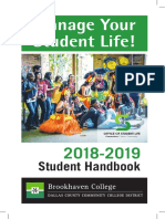 Brookhaven College Student Handbook 2018-19