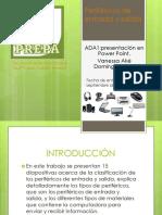 ADA1 periféricos de entrada y salida