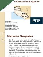 Desastres Naturales en La Región de Ica